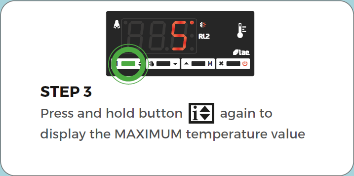 Standard Controller View min/max air temperature step 3