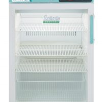PPGR158UK-LHH Under-counter Control Plus Glass Door Refrigerator 158L LHH