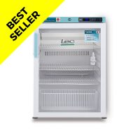 PGRC151UK Under-counter Pharmacy Refrigerator Glass Door 151L