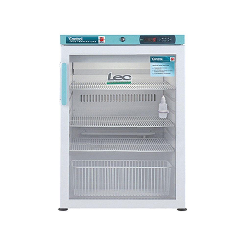 Under-counter Pharmacy Refrigerator Glass Door 151L