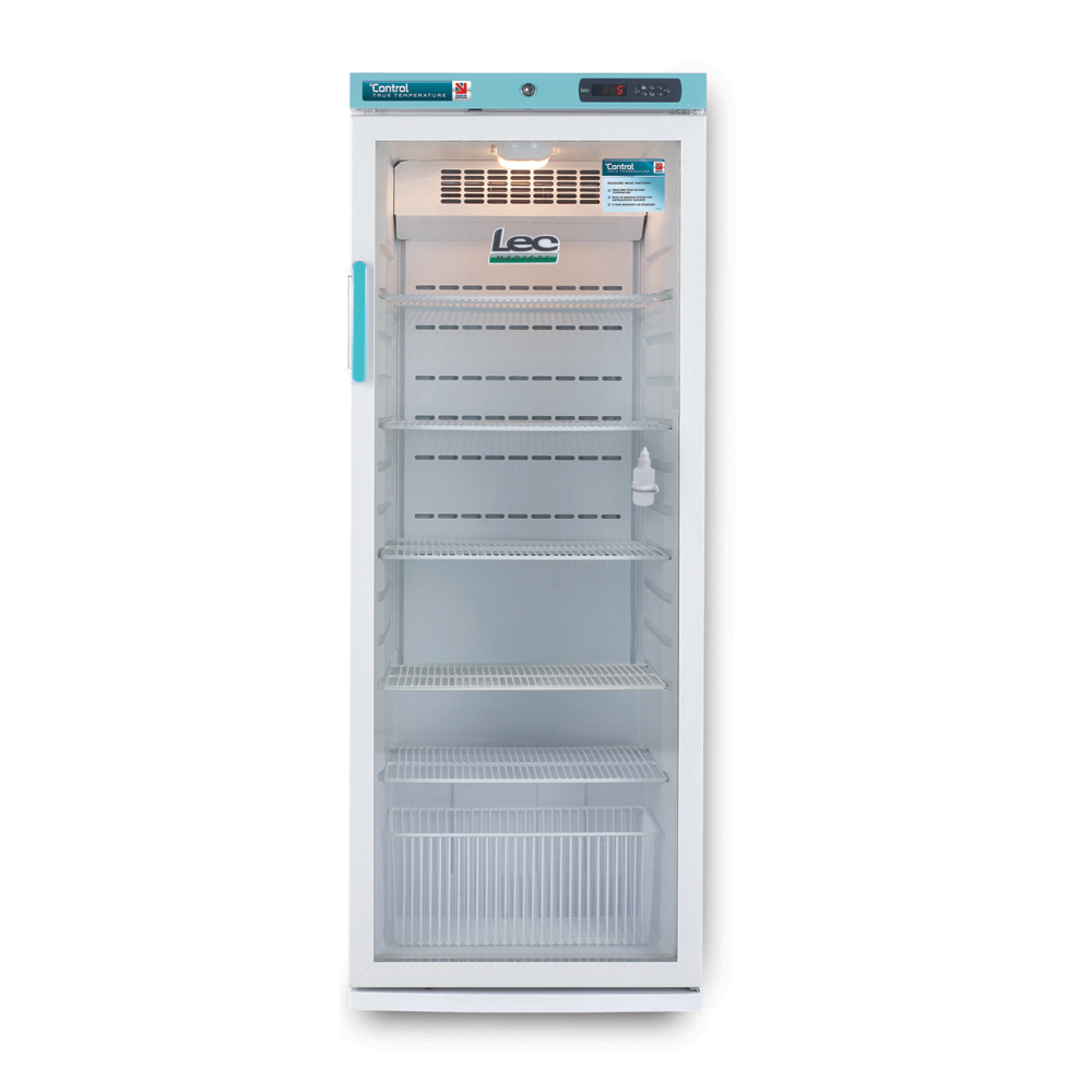 Freestanding Pharmacy Refrigerator Glass Door 273L