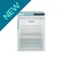 PPGR158UK Under-counter Control Plus Glass Door Refrigerator 158L
