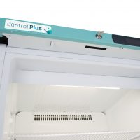 PPSR158UK Under-counter Control Plus Solid Door Refrigerator 158L