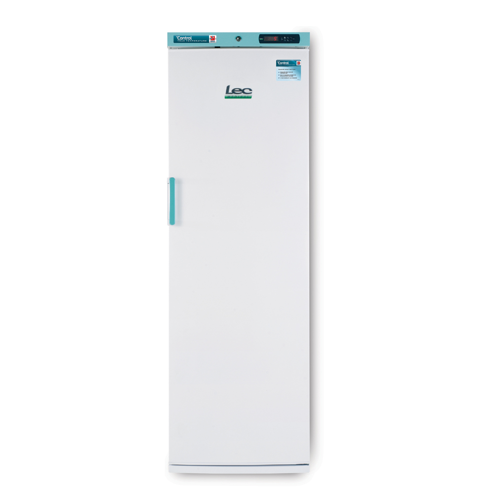 Freestanding Pharmacy Refrigerator Solid Door 353L