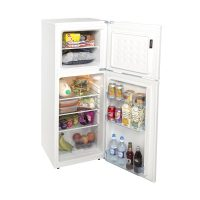 LC SCS136W essenChill Fridge Freezer Solid Door White 100/36L