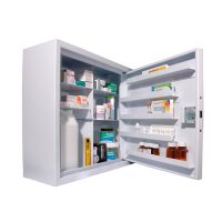 CDC570 Wall Mounted, Ambient Steel Controlled Drugs Cabinet 570L