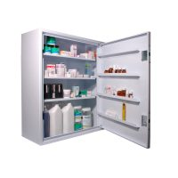 CDC760 Wall Mounted, Ambient Steel Controlled Drugs Cabinet 760L